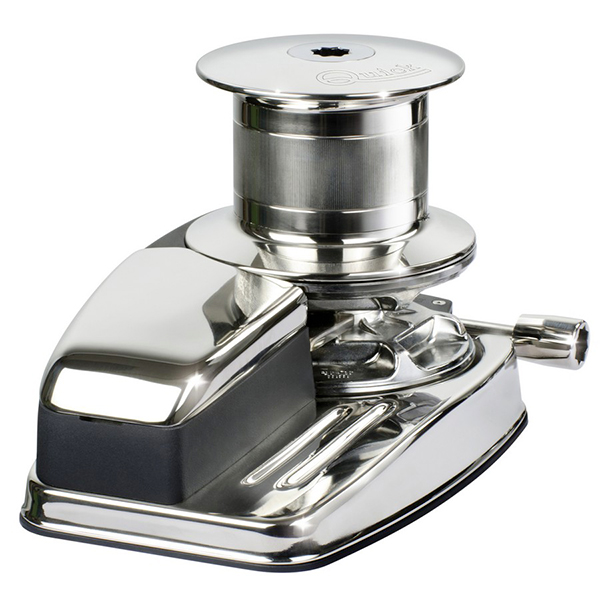 DV5 X Vertical windlass with drum